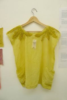 domestic scientist: Provisions for a Northern Climate - Embroidery and natural dyeing by Thea Haines