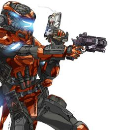 Titanfall Game, Character Concept, Character Art, Armadura Medieval, Futuristic Armour, Arte Cyberpunk, Sci Fi Armor, Future Soldier, My Demons