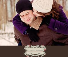 Winter Engagement Photography Essex, Ontario Photography by Vita Photography