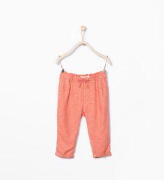 ZARA - KIDS - Printed loose trousers