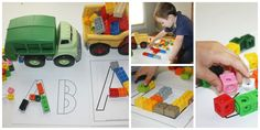 Free alphabet lego mats for preschoolers #lego #alphabet #preschoolers