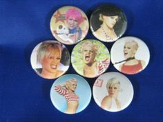 PINK American singer, songwriter and actress 7 pins CO