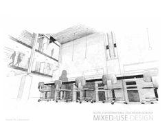 ISSUU - Bachelor of Interior Design Portfolio 2013 by Dana Wakabayashi Interior Design Portfolios, Interior Design Sketches, Portfolio Design, Coats For Women, Entrance, Floor Plans, Coat Racks, Modern, Mood