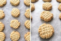 When it comes to shortbread cookies, it's all about the texture and crunch, right? Well, today we're sharing a gluten-free spin on this classic cookie using almond flour instead of all-purpose flour. Almond Flour Biscuits, Almond Flour Cookies, Buttery Biscuits, Almond Flour Recipes, Keto Cookies, Shortbread Cookies, Baking Recipes, Cookie Recipes, Scd Recipes