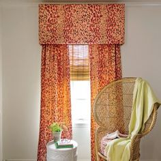 How To Make Your Own Window Valance - If you can wrap a gift, you can hack designer window treatments. Here's everything required to outfit one standard-size, 34- by 50-inch window