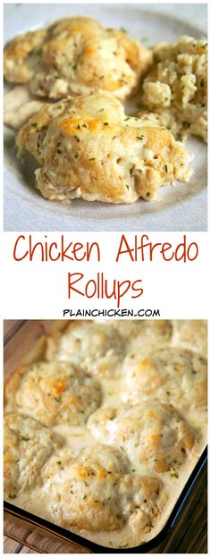Breasts rollups chicken