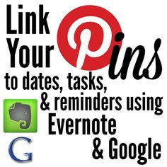 Link Pinterest Pins to Dates and Tasks with Evernote and Google Calendar   Practice Hospitality   Blog