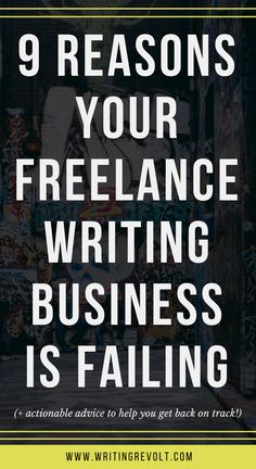 If you're a failing freelance writer, don't give up just yet. Read this post to learn what you're doing wrong so you can take action and solve the problem! | freelance writing business | freelance writing tips | freelance writing for beginners | make money writing online | freelancing tips |