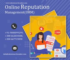 Our Online Reputation Management(ORM) service and experience the difference in your online presence call +91-9008099299, +380 66 283 4580, +380 667719090 and Visit www.talentsearchranker.com/online-reputation-management-orm.html #ORM #OnlineReputationManagement #Social #smo #SocialMediabusiness #SMM #smmukraine #ukraine #ukrainedigitalmarketing #ukrainesmo Internet Marketing Company, Best Digital Marketing Company, Online Marketing, Reputation Management, S Mo, Ukraine, Search, Internet Marketing Firm, Searching
