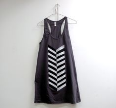 feather tank dress.
