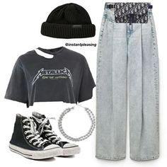 Clueless Outfits, Kpop Outfits, Teen Fashion Outfits, Edgy Outfits, Swag Outfits, Retro Outfits, Grunge Outfits, Cute Comfy Outfits, Polyvore Outfits