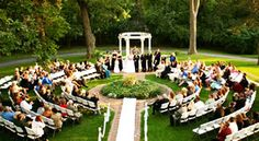 Larimore House Marble Wedding Gazebo, St. Louis Wedding Venue