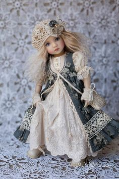 Clothes for Little Darling Outfit for doll Dress with lace