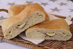 Ost og skinke brød - My Little Kitchen