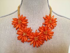 A Clemson necklace, to show off your orange!