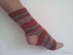 Yoga Socken, tanzen, Pilates, gestrickt superwash, gestreift von LiMariann auf Etsy