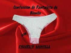 Confección Pantaleta de Blonda - YouTube