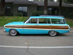 1964 Ford Falcon Squire Station Wagon Maintenance of old vehicles: the material for new cogs/casters/gears/pads could be cast polyamide which I (Cast polyamide) can produce