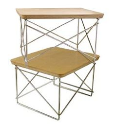 Eames Wire Base Side Table