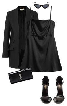 """Untitled #17"" by oliviasage on Polyvore featuring Chloé, Yves Saint Laurent and Le Specs"