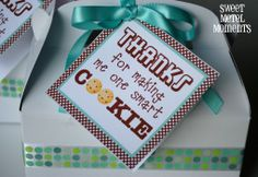 "Free Printable - Teacher Appreciation - ""One Smart Cookie"""