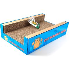 โซฟาสำหรับให้แมวข่วน นอนเล่น Price:GBP 9.99  http://www.ebay.com/itm/Cat-Scratcher-Sofa-Lounge-including-free-cat-nip-Cardboard-Scratch-Post-Cat-Bed-/310404136460?pt=UK_Pet_Supplies_Cats&hash=item4845873e0c