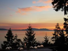 Chuckanut Drive, overlooking Puget Sound & the San Juan Islands, Bellingham Washington