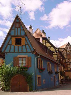 Saint Hippolyte, Alsace, France...✈...