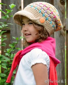 Summer Slouchy ... by Marken | Crocheting Pattern - Looking for your next project? You're going to love Summer Slouchy (Toddler/Child/Adult) by designer Marken. - via @Craftsy