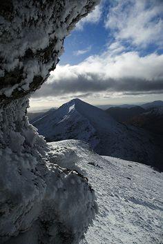 Stob Binnein southern Highlands of Scotland near Crianlarich from Ben More ༺