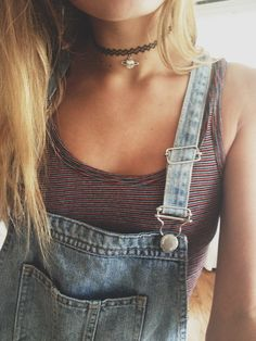 Grunge Outfit with Choker Necklace