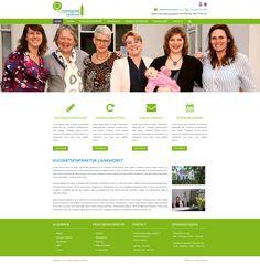 Vandaag is het website ontwerp van Huisartsenpraktijk Lankhorst goedgekeurd door de klant. Identity, Website, Shopping, Personal Identity