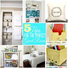 Five ways to create the perfect guest bedroom.