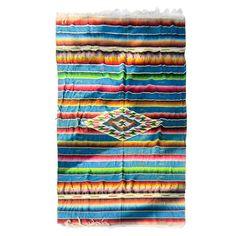 Post Classic Sarape de Saltillo  Mexico  1920's (Grandma's is pretty old too)