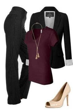 If you like this outfit and want to know where you can buy each item for a great price, visit outfitsforlife.com for more info and even more outfit inspiration! #work #businesscasual #workoutfit #fall