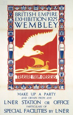 British Empire Exhibition Wembley 1924-25.