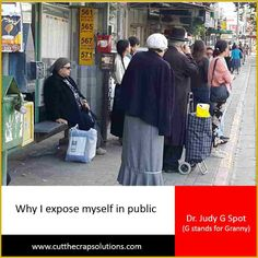 Why I expose myself in public  Today's post is not what you think ... at least I hope not :)  I am known for my stories. I am known for sharing bits and pieces of my personal life. In this post, I explain why.  READ ON :) http://judyyaron2.wix.com/grannyalwayssays#!Why-I-expose-myself-in-public/c1l60/565ef1ed0cf212bd6be275cf  HUGS <3   #ultrablog   #Israel
