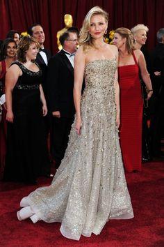 Cameron Diaz in Oscar de la Renta @ 2010 Academy Awards