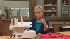 """easiest way"""" to sew collars, corners, and sleeves."""