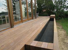 Terrasse en ipe sur pilotis Des terrasses pleines didées
