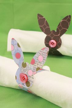Des idées et DIY de lapins Sélection par Mercerie Caréfil http://www.merceriecarefil.com/fr/