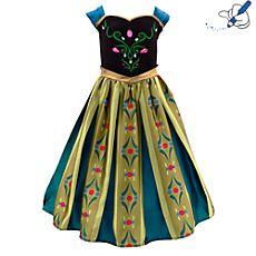 Frozen Fever Fête D/'Anniversaire Anna Party Jupe Princesse Cosplay Tournesol Robe