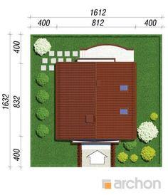 gotowy projekt Dom w rododendronach 11 sytuacja