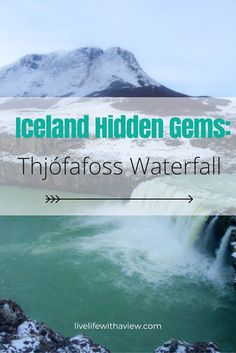 Discover hidden gems in Iceland like this beautiful turquoise waterfall called Thjófafoss in South Iceland Iceland Pictures, North Iceland, Guide To Iceland, Iceland Adventures, Iceland Travel, Trip Planning, Places To See, Travel Inspiration, Waterfall