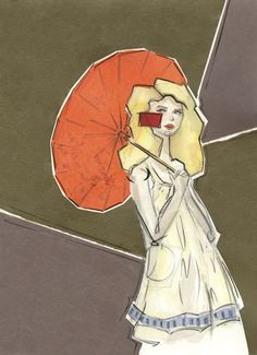 victoriariza fashion illustration