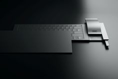 """Created by Jarim Koo, Audi Layer is a concept for a sleek input device for desktop PCs. """"Audi designs are about people's daily lifestyles… Yanko Design, Design Blog, Electronic Gifts, Audi A5, Minimal Design, Grid Design, Creative Industries, Tech Gadgets, Computer Accessories"""