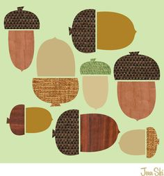 Acorns - Jenn Ski design