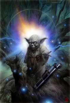 Yoda,  we need more Yodas in this world!