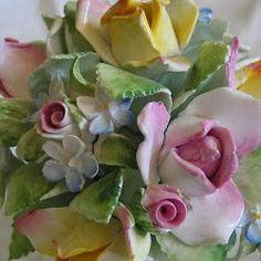 Porcelain flowers