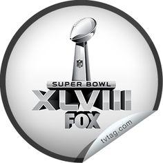 (New) Super Bowl XLVIII Sticker   tvtag